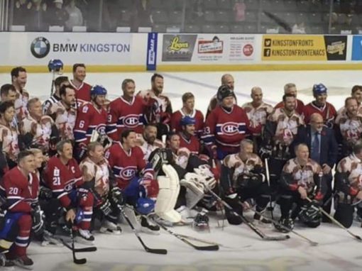 Our Nations Heroes Hockey Game